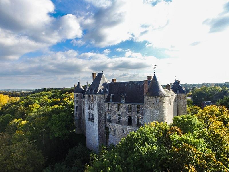 Château de Saint Brisson sur Loire