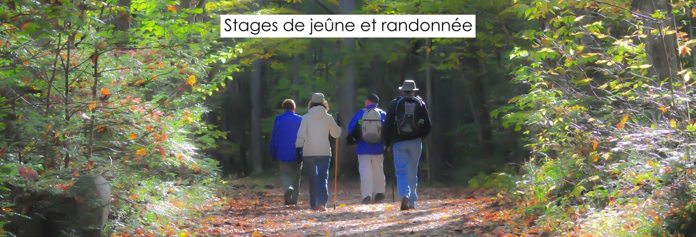 Stages de jeûne et randonnée
