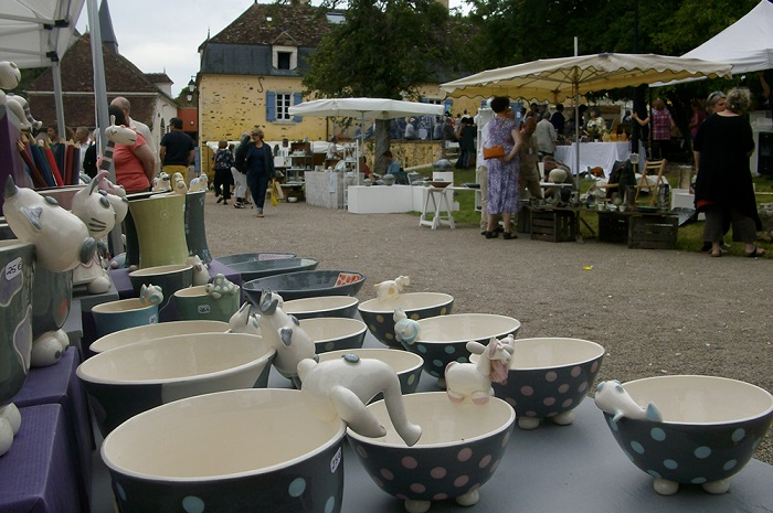 Ceramic Festival at the Couvent de Treigny