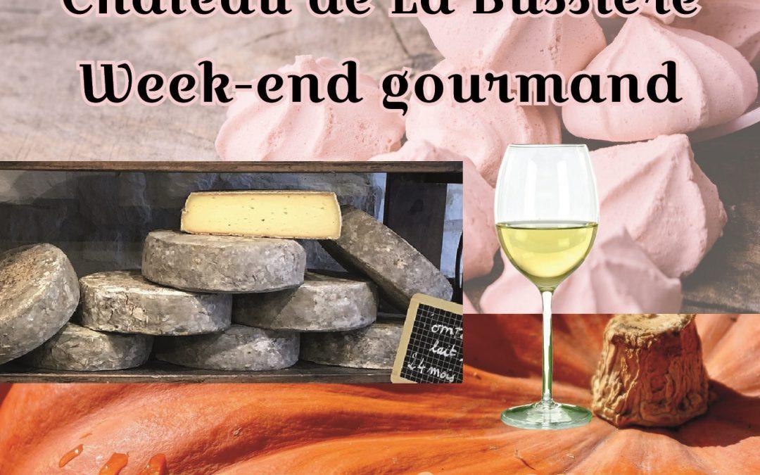Week-end gourmand au Château de la Bussière
